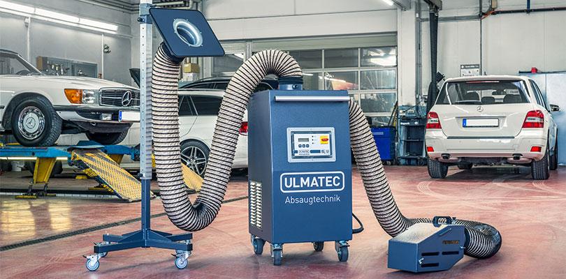 Video Benzolabsaugung IBA   ULMATEC GmbH